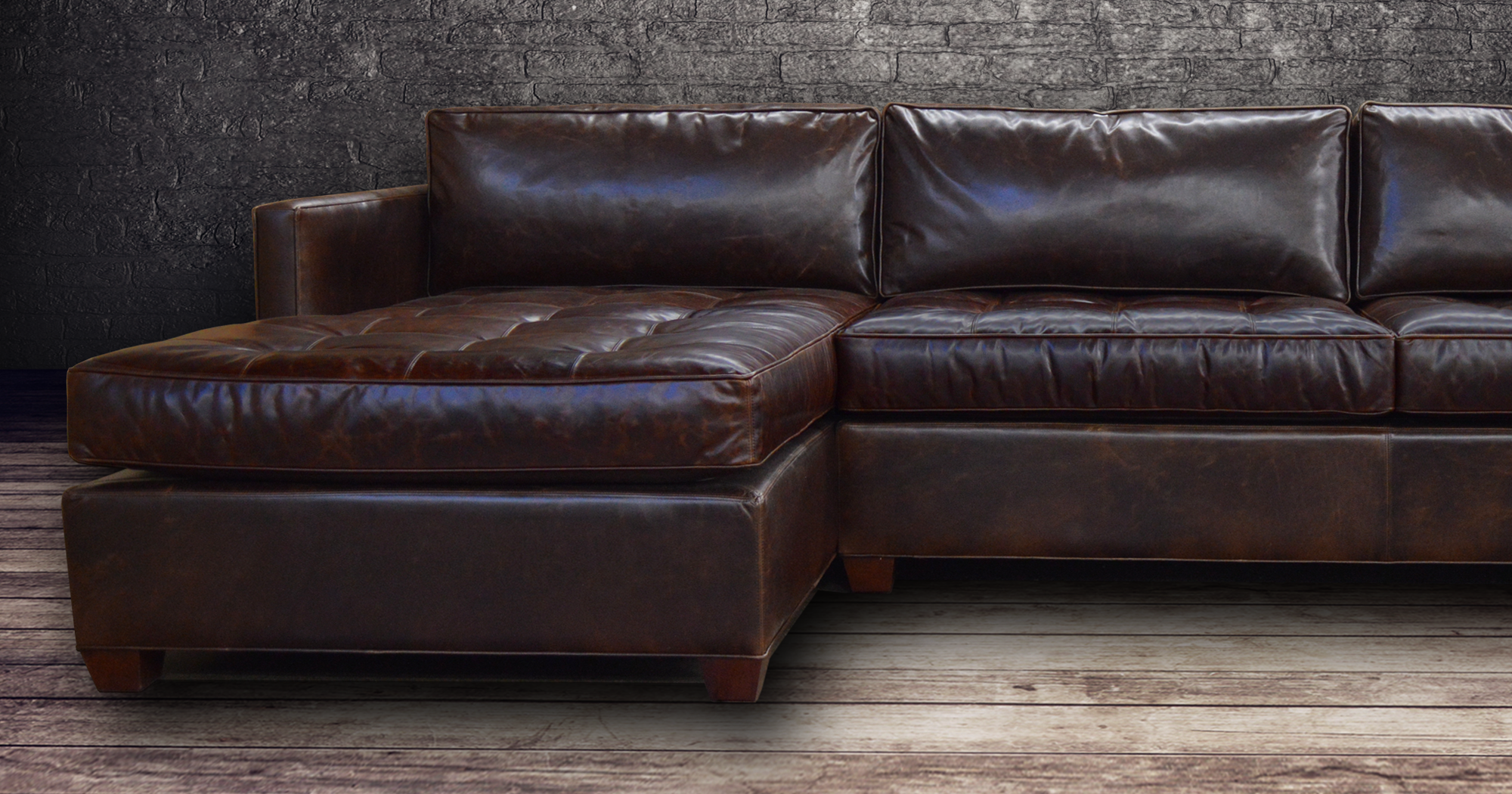 American Made Leather Furniture, Leather Sofas, Leather ...