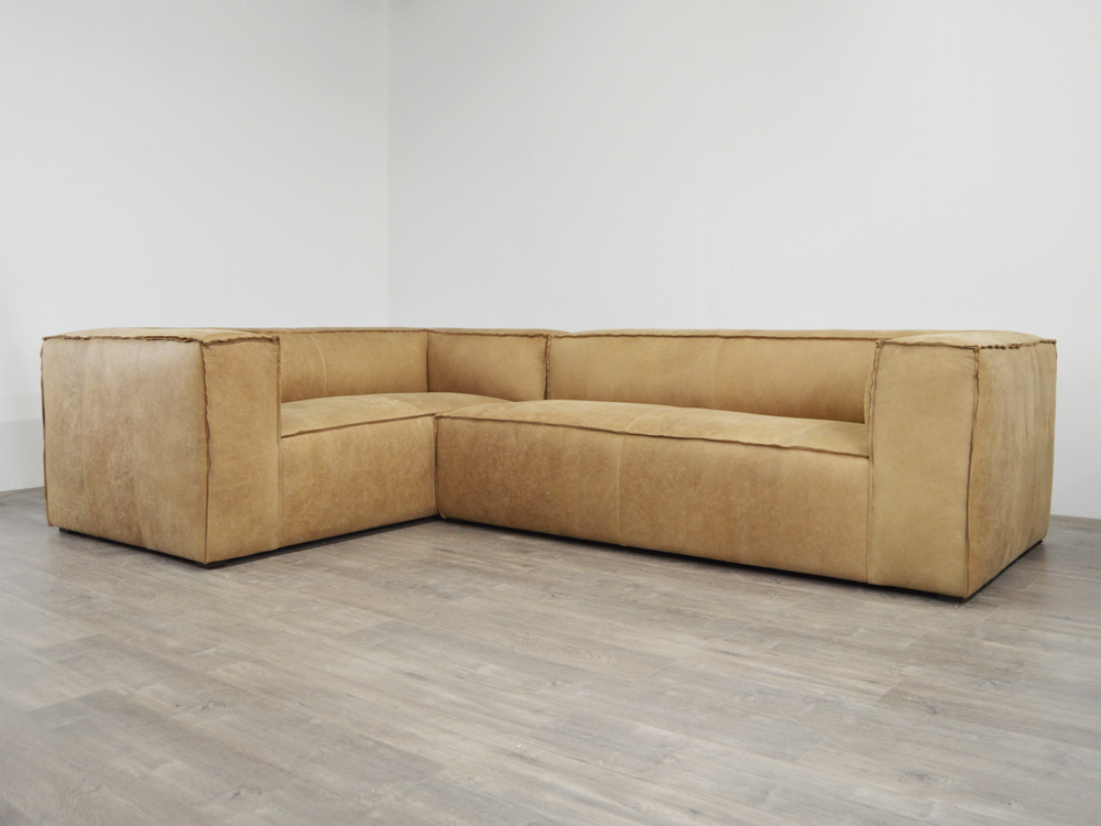 Bonham Leather L Sectional Sofa