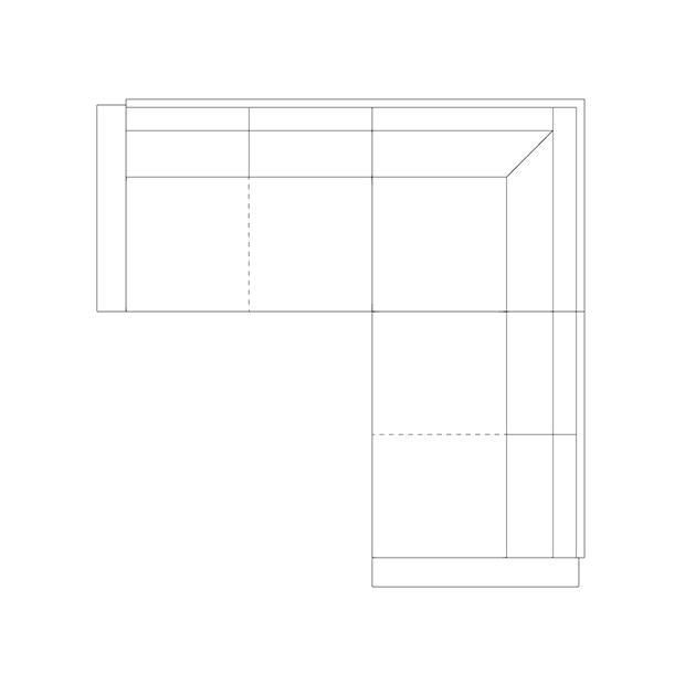 Leather Corner Sectional Sofa Configuration