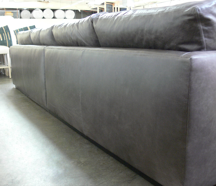 Custom Length or Depth for your Leather Furniture