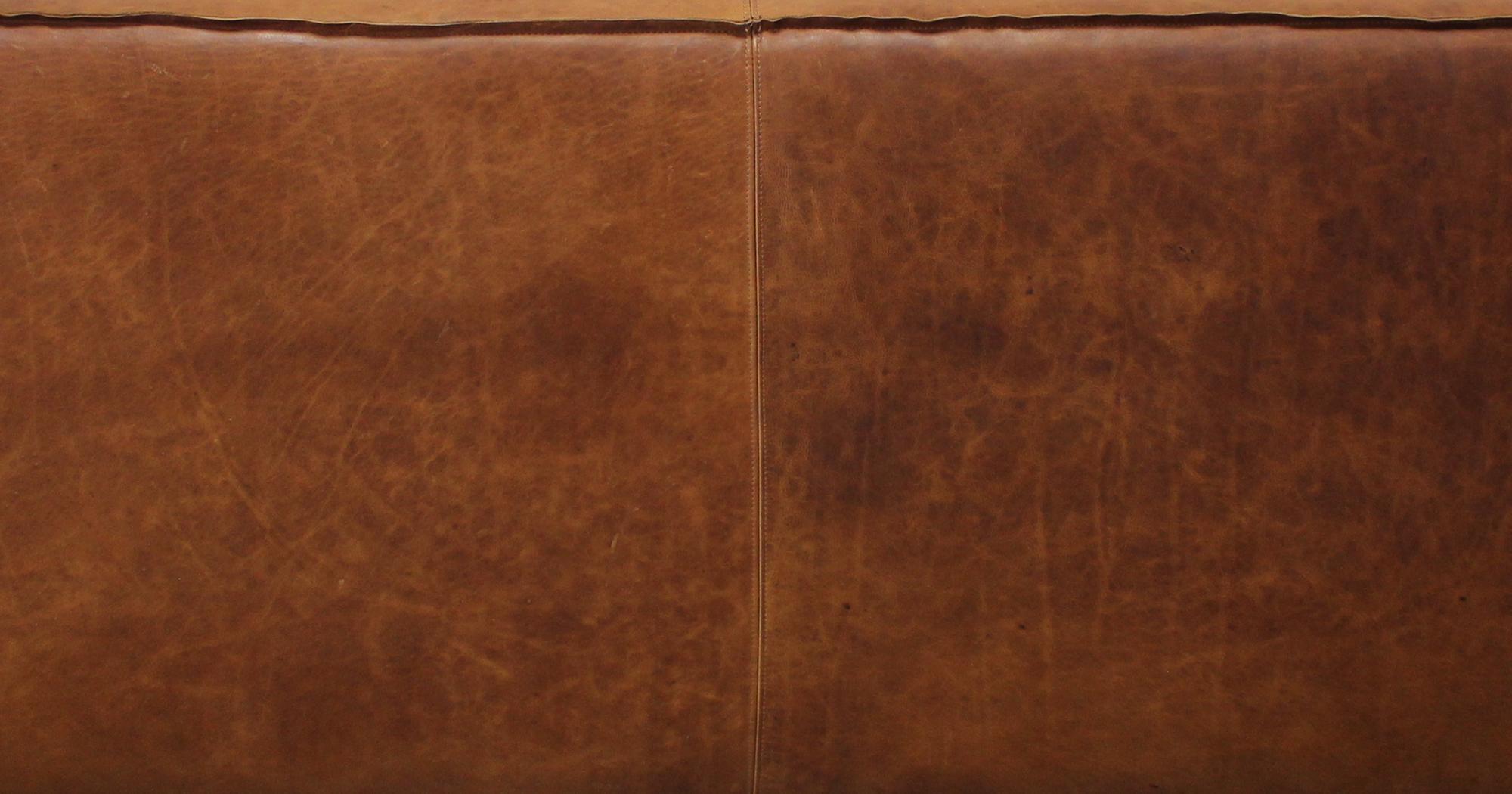 Italian Brentwood Tan Leather
