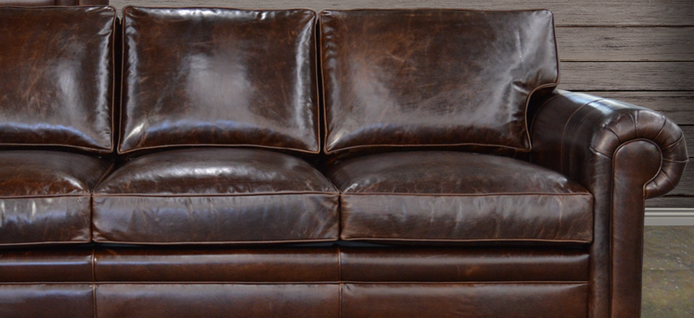 The Langston Leather Furniture Collection