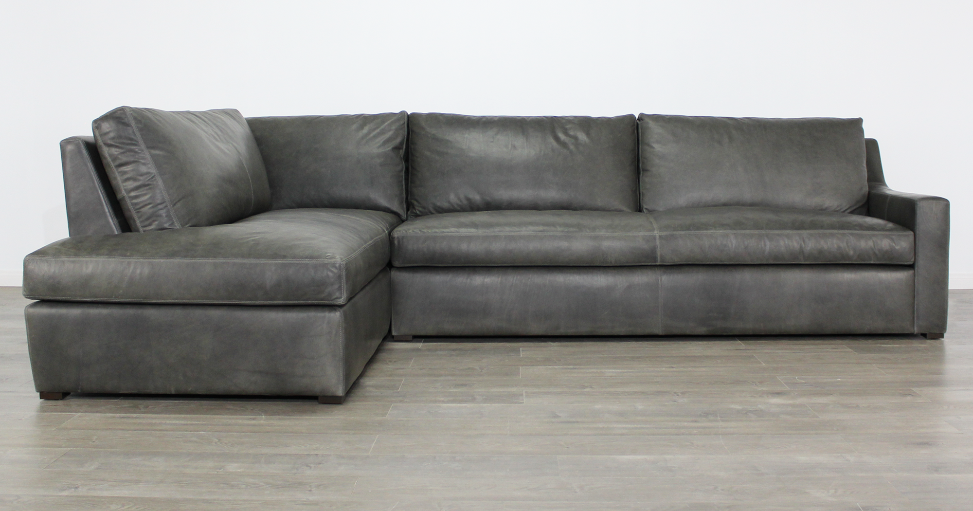 Julien Track Arm, Leather Sectional Sofa, Sectional Couch