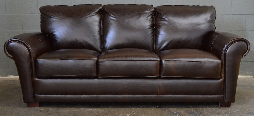 The Mark Leather Sofa by Luke Leather