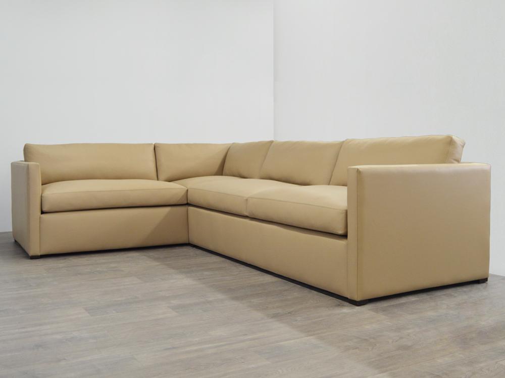 Oscar Leather Sectional Sofa